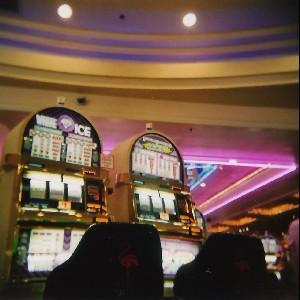 Las Vegas, machines à sous