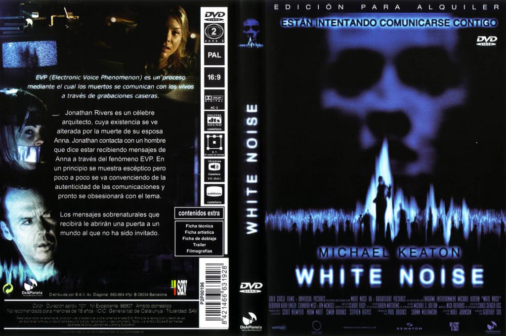 DESCARGAR Carátulas DVD de White Noise <br />