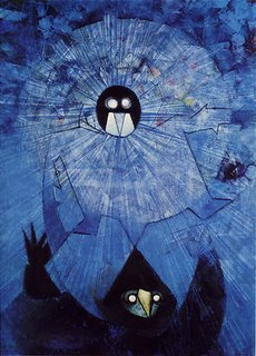 Max Ernst, The Dark Gods
