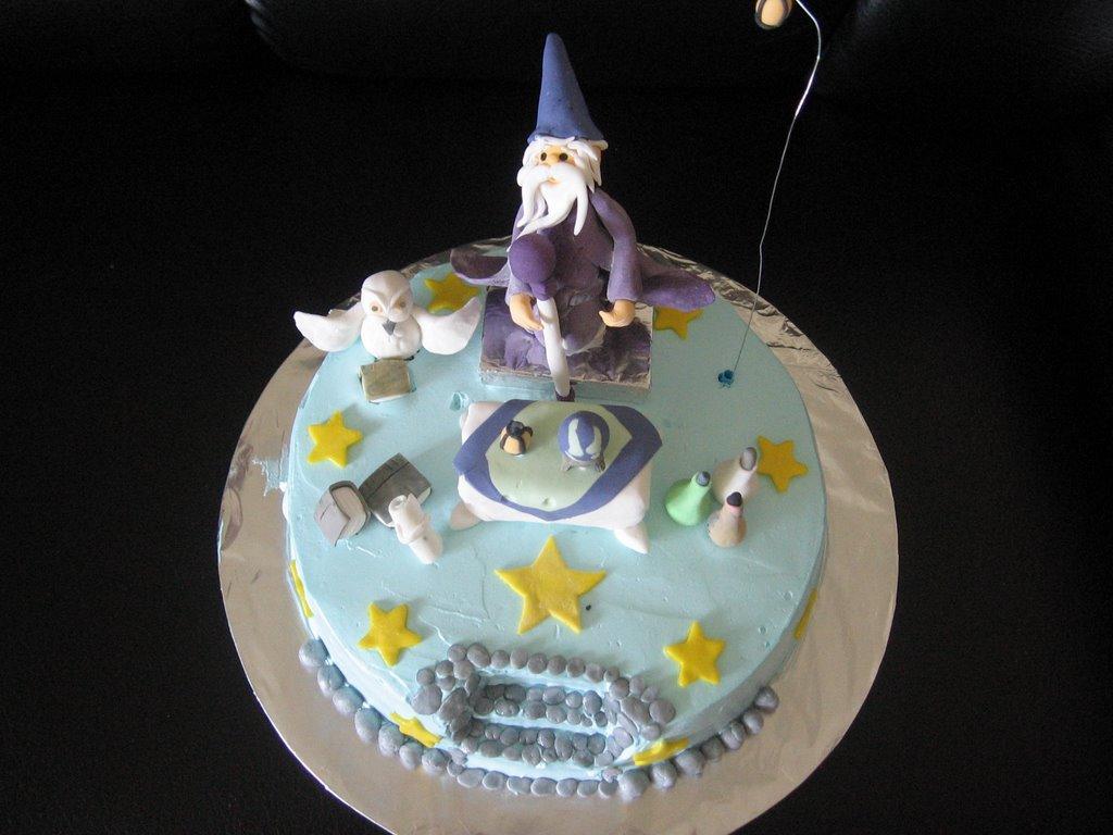 Glads Passion Wizard Cake