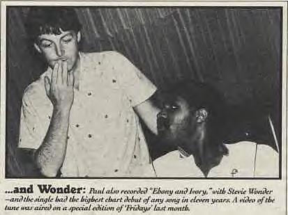 ebony and ivory paul mccartney and stevie wonder № 271235