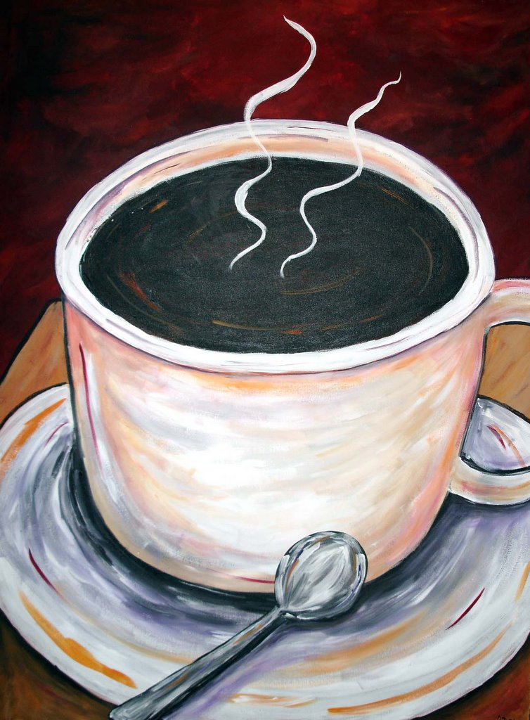 Coffee Wall Decor Coffee Collectible Art Espresso Decor Coffee Paintings Decorations For Coffee Shop