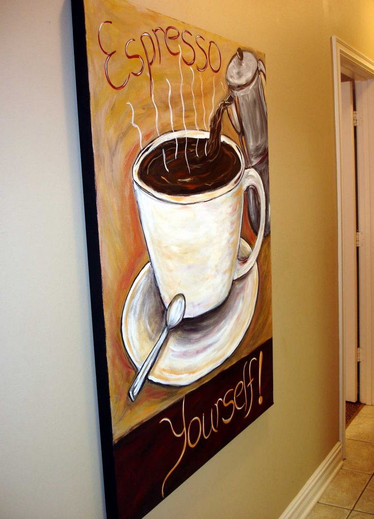 The Modern Artist Coffee Wall Decor Coffee Collectible