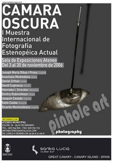 Poster for Camera Obscura:International Pinhole Photography Exposition