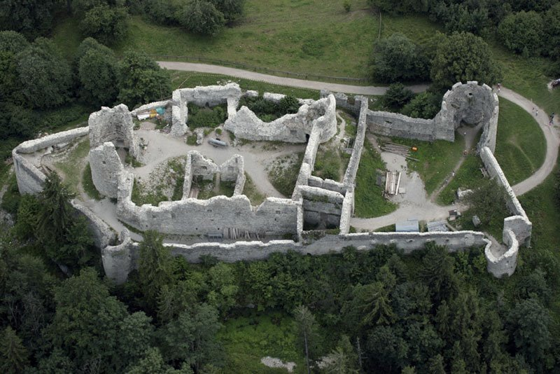 Castle Hohenfreyberg in Allgaeu