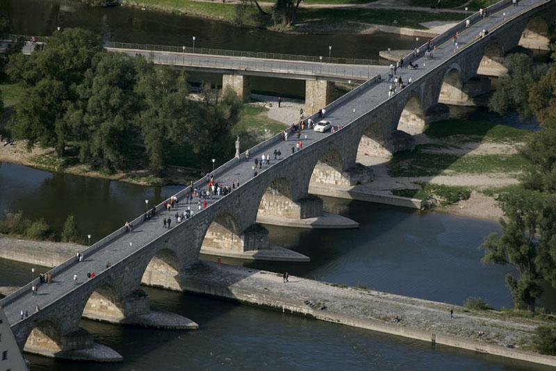 Regensburg's Bridge