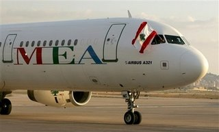 MEA at Beirut International Airport September 7, 2006