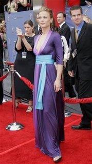 Nice dress, Gina.
