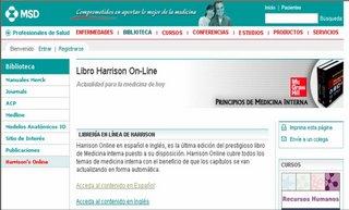 Harrison en español en Merck