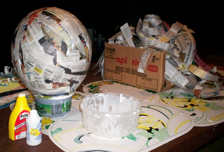 Day in the life coasting richly for Buy paper mache glue