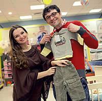 Danijel i Kristina Despot malo su požurili - prvo će u travnju morati nabaviti pelene za sinčića