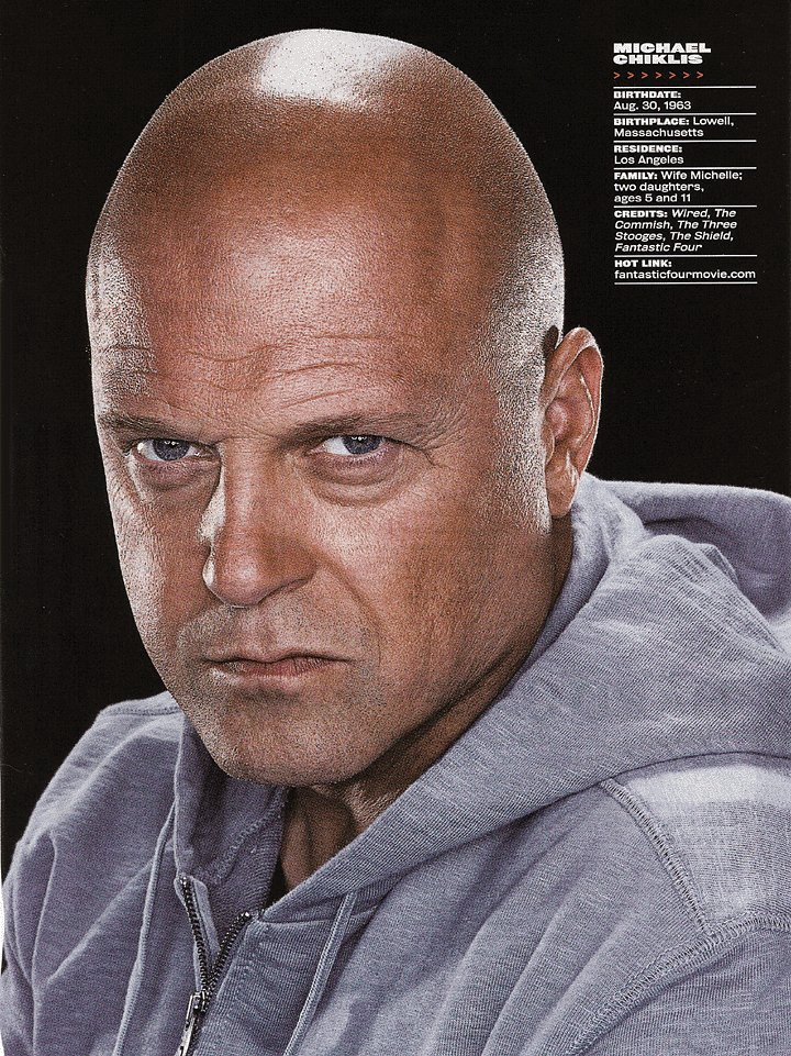 Blog - Credit Plus Health By Sean Toh: Michael Chiklis Trained Hard ...