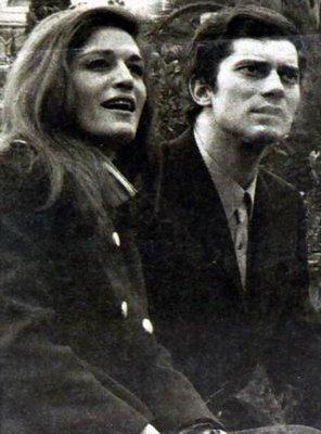 Dalida e Luigi Tenco a Sanremo