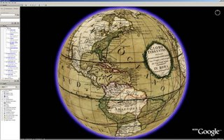 Old world meets new on Google Earth