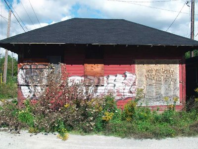 Abandoned CPR RR Station, Oshawa