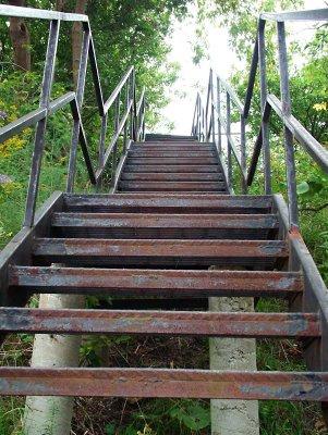 Iron Stairs, Thomas Street, Oshawa
