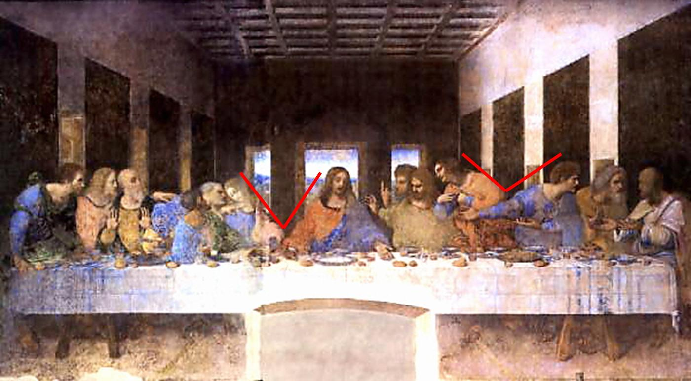 Just a Girl: The Davinci Code: The Last Supper