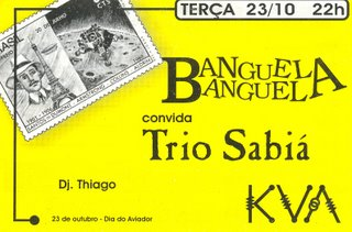 Banguela Banguela - KVA - 23/10/2001