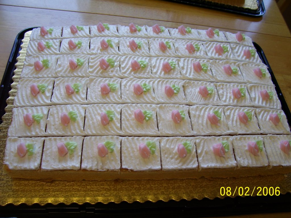 Creative Cakes By Angela: Sheet Cake for a wedding