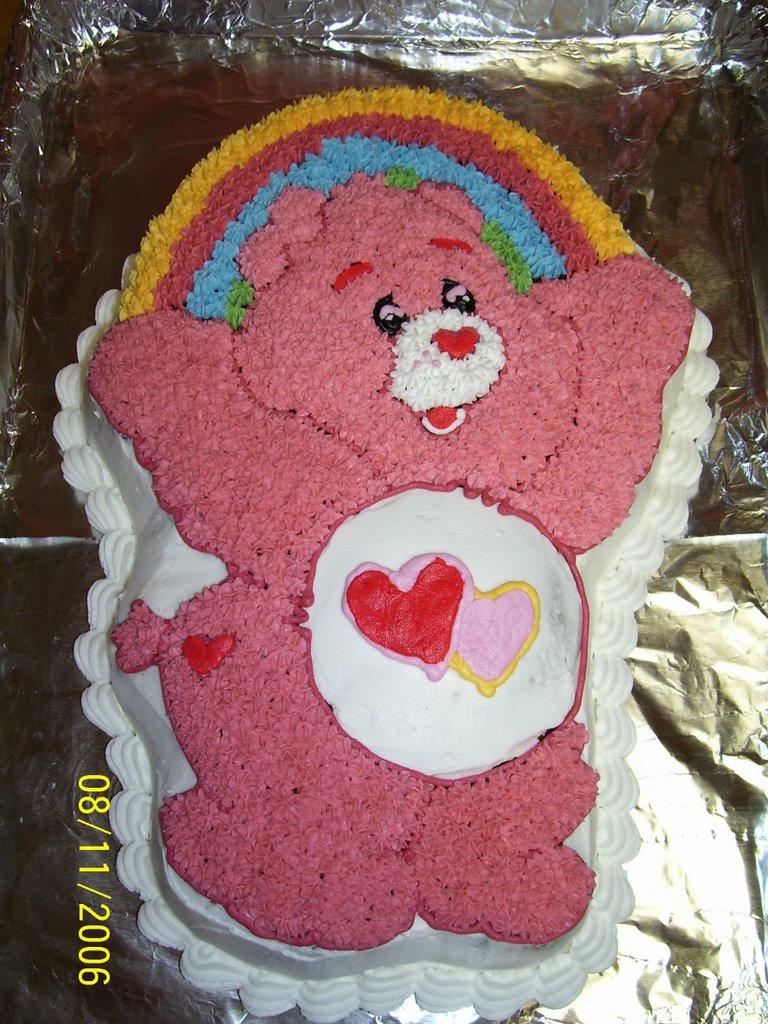 Creative Cakes By Angela LoveALot Care Bear