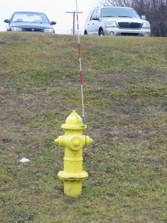 Fire Hydrant with Radio Antenna