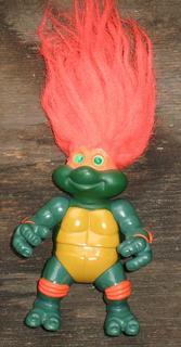 Turtle troll doll