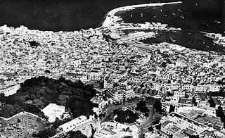 Tanger vue aerienne