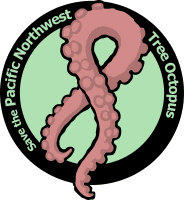 Northwest Tree Octopus logo