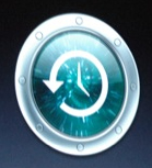 Time machine logo from OS X Leopard