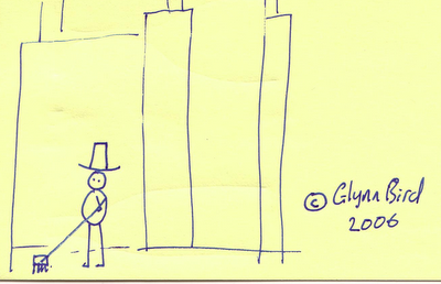 Post-it Note Art #2 - An Englishman in New York