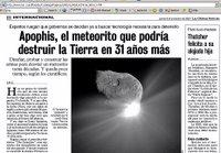Las Ultimas Noticias, Chile