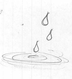 Water Drops Doodle