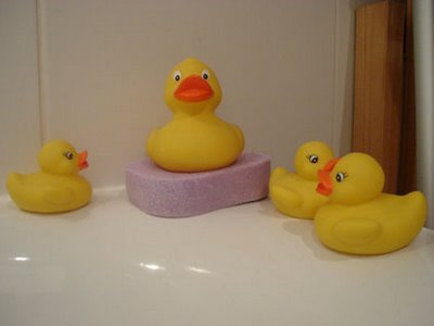 Four Rubber Duckies