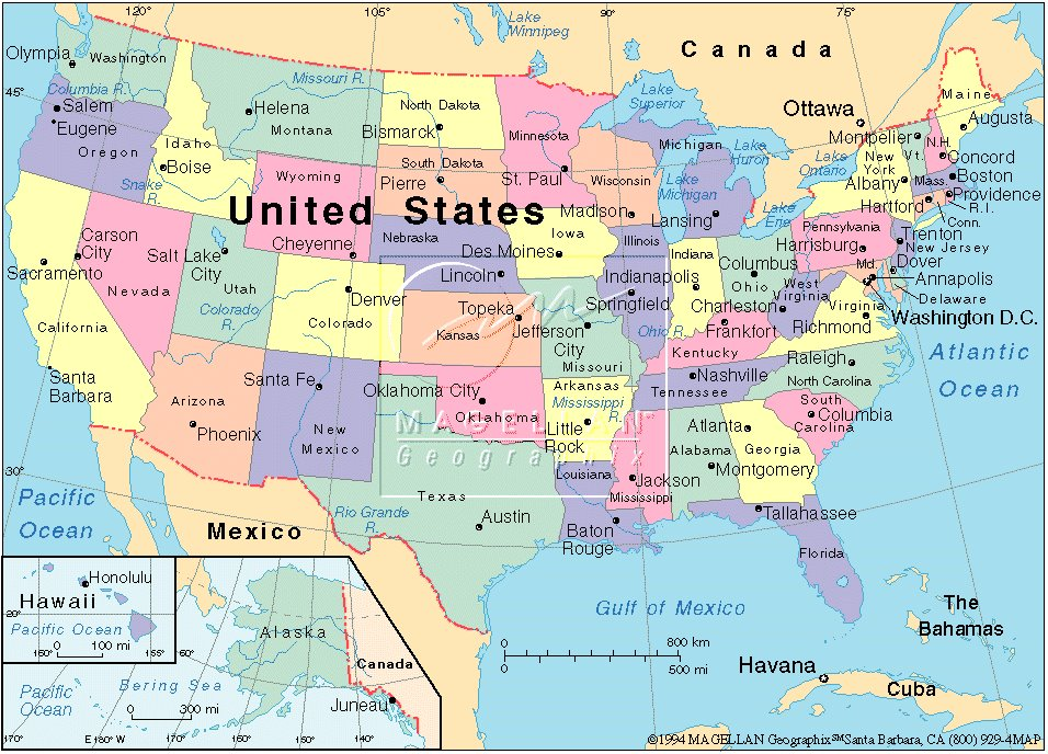 Us Full Map Cyndiimenna - Full-map-of-us