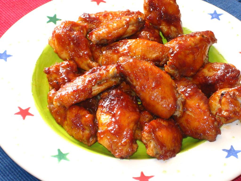Hoisin Glazed Chicken Wings Recipe — Dishmaps