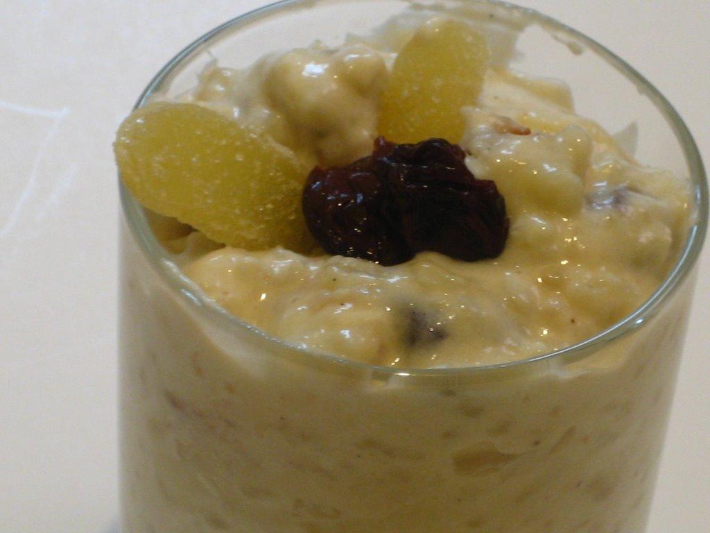Ginger Rice Pudding Recipe — Dishmaps
