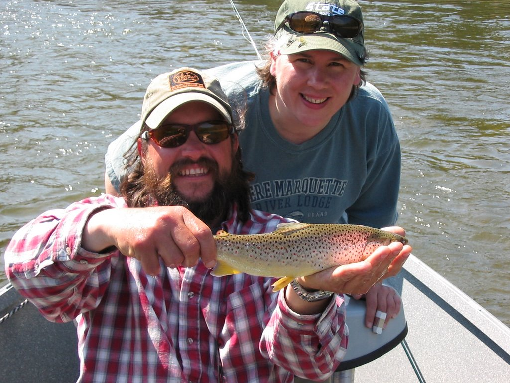 Science and sarcasm manistee river fishing report 5 7 for Manistee river fishing report tippy dam