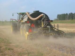 Manure seeding