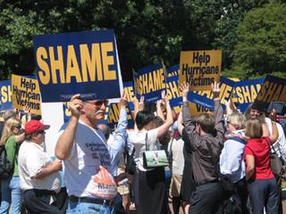 Shame on Bush