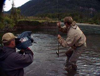 Filming in Patagonia