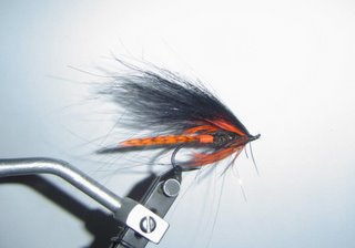 Speytrout's orangebutt spey fly