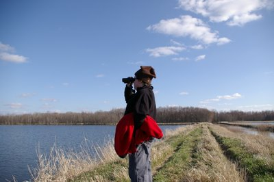 Birding at the marsh