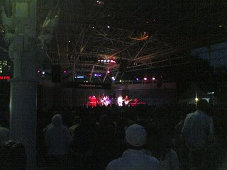 The Dears from far away. Photo taken with my Nokia 6682.