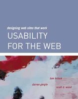 Usability for the Web (book cover)