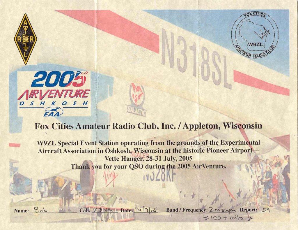 Fox Cities Amateur Radio Club Inc Appleton, WI
