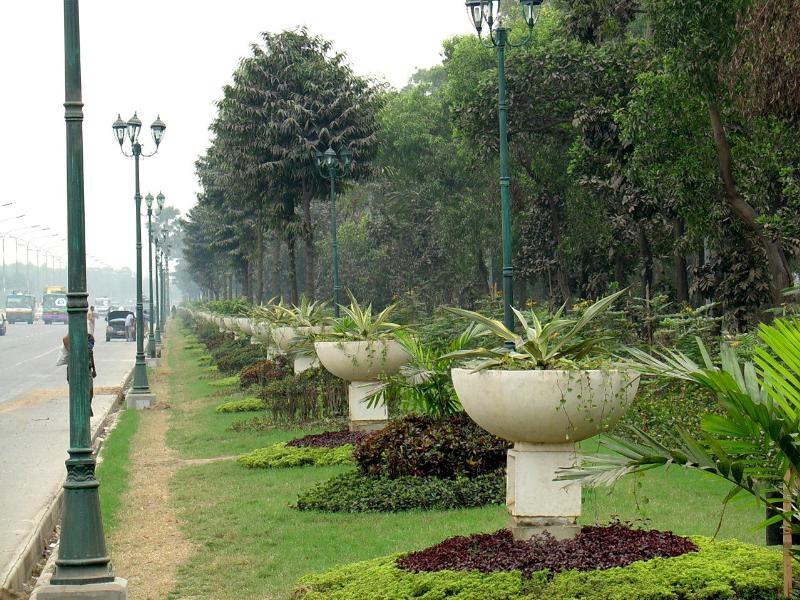 road beautification of dhaka city Completed and ongoing projects completed project ser: name of project: 1 bagaihat-masalong-sajek road project : 2 chimbuk (y junc) - ruma road project: 3.