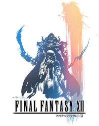 El logo de Final Fantasy Xii, siguiendo la estética de el de los demás capítulos
