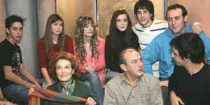 Algunos de los actores que intervendrán en esta quinta temporada
