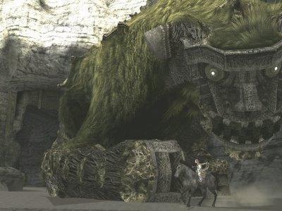 Una captura del videojuego, que nos presenta la majestuosidad de los gigantes a los que deberemos enfrentarnos durante la historia