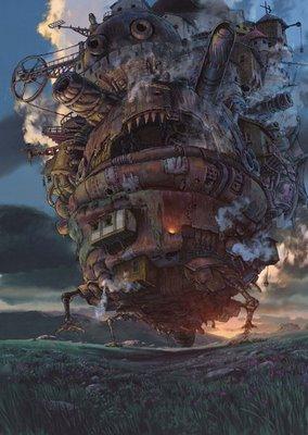El Castillo Ambulante, el cual da nombre a la película y nos depara más de una sorpresa
